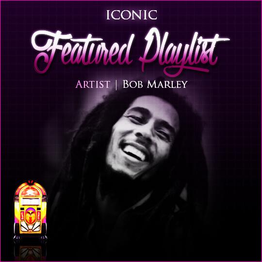 Bob Marley Display
